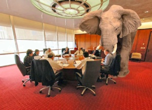 Elephant in room (not subtle)