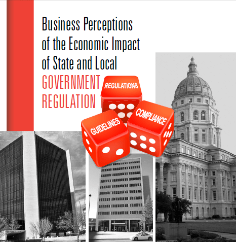 Business Perceptions of the Economic Impact of State and Local Government Regulation
