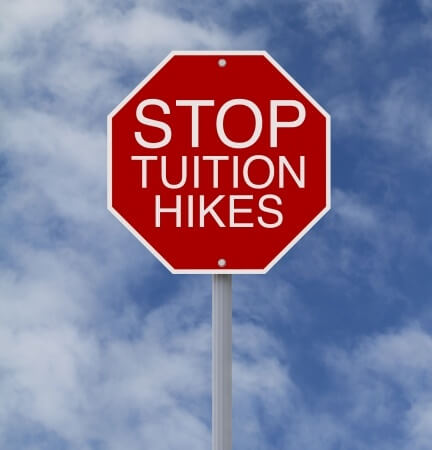 University funding actually increasing; tuition hikes not necessary