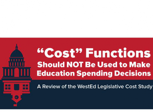 """Cost"" Functions Should Not Be Used to Make Education Spending Decisions"