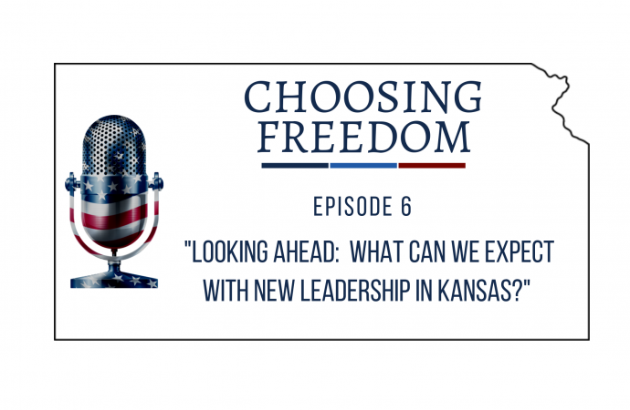 What can we expect with new leadership in Kansas?