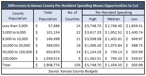 county budget