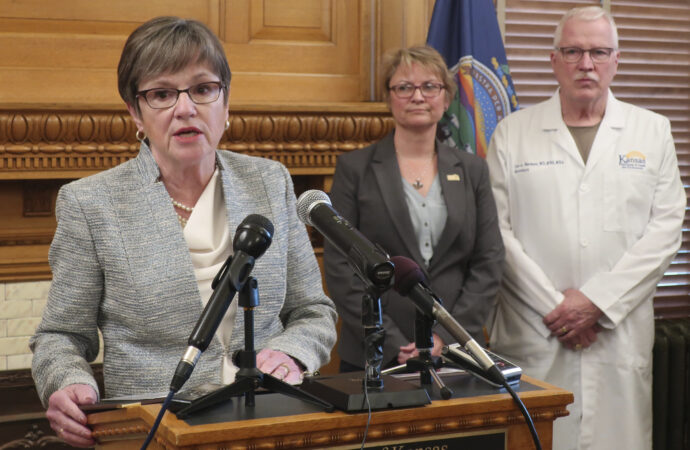 Gov. Kelly's COVID testing strategy won't end restrictions